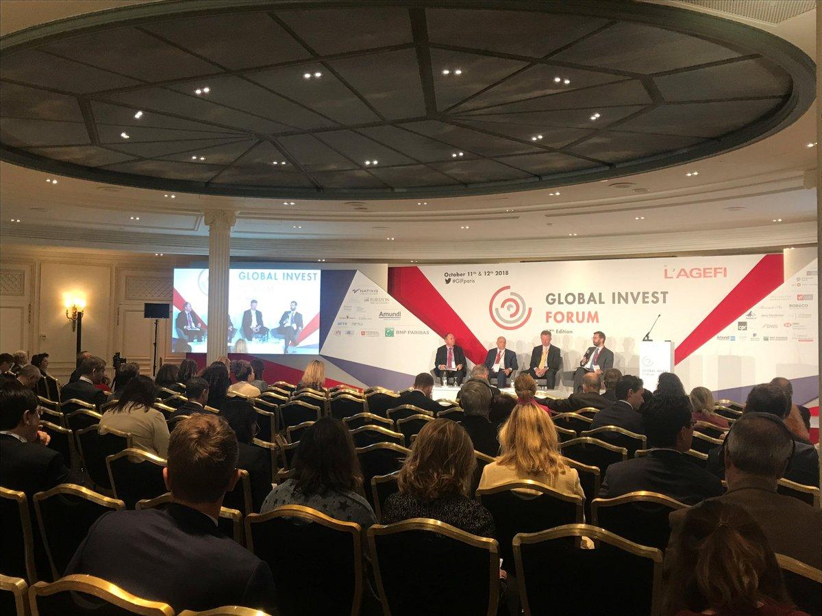 Global Invest Forum 2018 : Pierre Sauvagnat de la BCGE revient sur les solutions proposées par les différents pays européens face au problème du financement des retraites.  #GIFparis,  - FestivalFocus