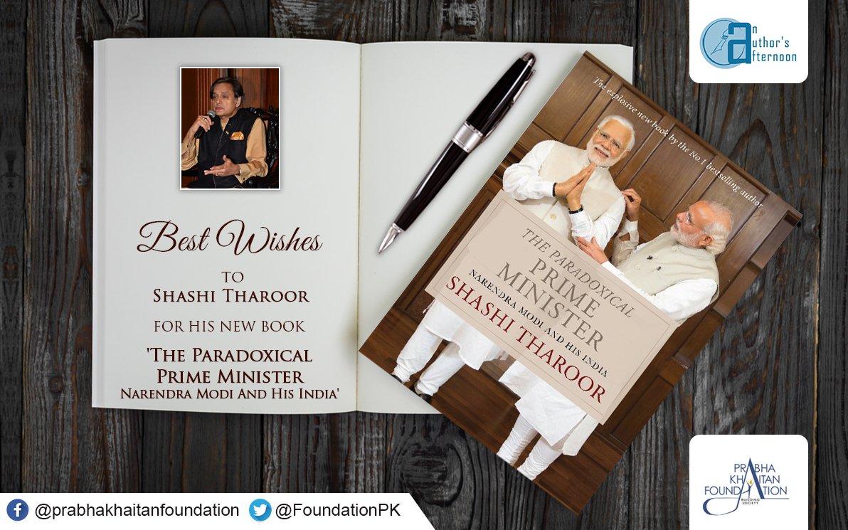 Shashi Tharoor On Twitter Thanks Delhi Launch October 26th 6 Pm
