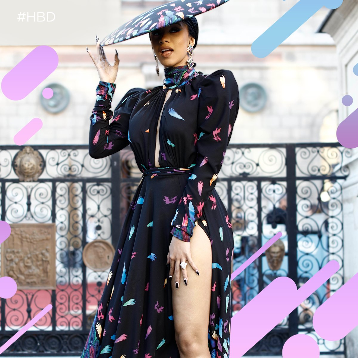 .@iamcardib has taken the world by storm over the past two years, and it's only going to get better from here. Happy 26th birthday, Bardi. 🎂