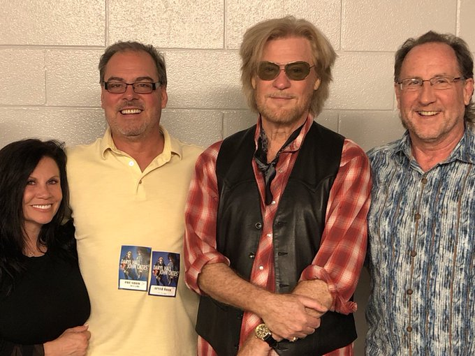 Happy Birthday Daryl Hall! How do you sing Happy Birthday to a guy who could sing it better than you??