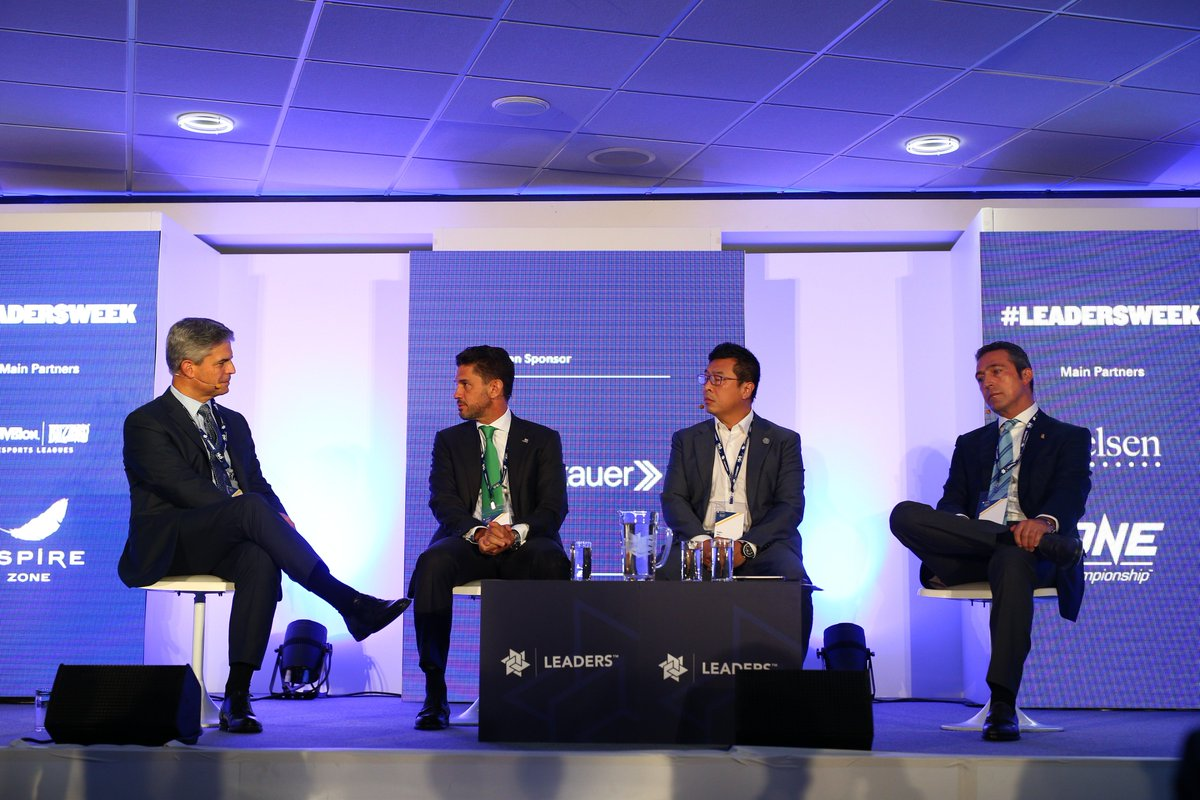 It&#39;s time to meet club owners from Turkey, the Netherlands and Mexico.  Joining us onstage we have Ali Koç@Fenerbahce, Alejandro Irarragorri @ClubSantosEn and Felix Wu @ADODenHaag.  This session is brought to you in partnership with @proskauer   #LeadersWeek <br>http://pic.twitter.com/KpdOUgkfI5