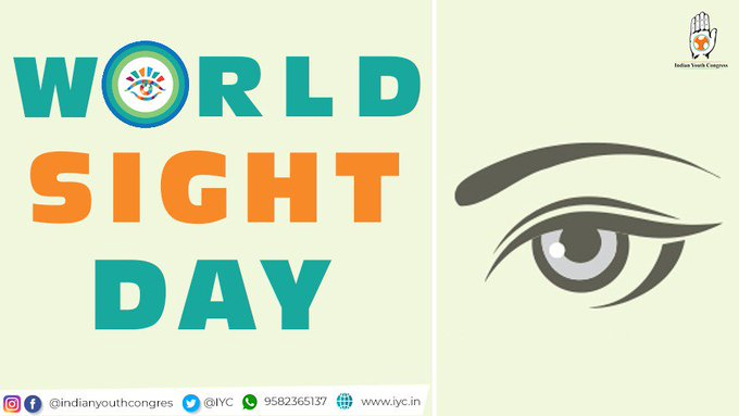 """""""Of all the senses, sight must be the most delightful- Hellen Keller."""" On #WorldSightDay, let us focus on helping raise awareness about blindness and vision-related impairments, of which 80% can be prevented or cured. Take care of your eyes for they are the window to your soul. Photo"""