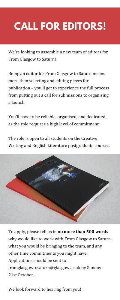 creative writing course glasgow