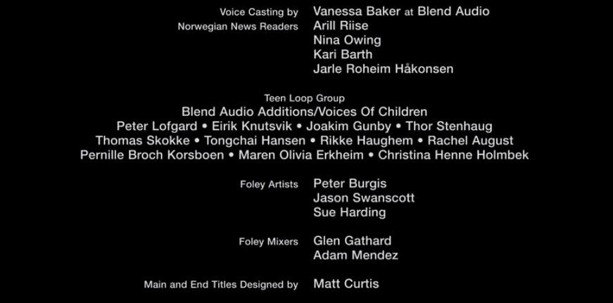 I had the pleasure of working on Paul Greengrass&#39; latest film, #22July. Though I didn&#39;t work directly with him, I&#39;m honoured have my name in the same credits as him, his cast &amp; crew. The film was very emotional, and close to heart - especially to us Norwegians. @netflix #ADR #VO<br>http://pic.twitter.com/zUB4fFUCuL