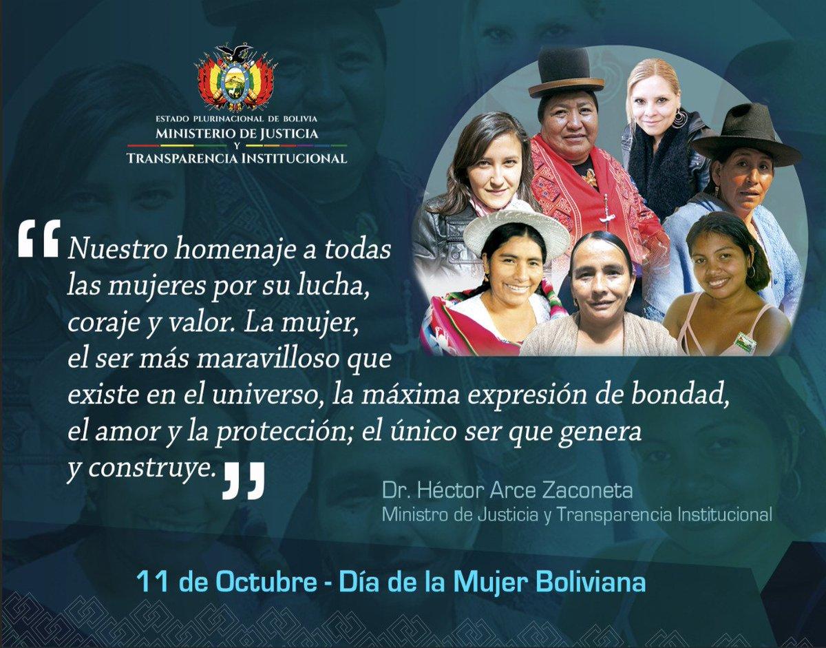 Ministerio Justicia Y Transparencia Institucional On Twitter Feliz Dia De La Mujer Boliviana El 8 de marzo según la onu es el día de la mujer trabajadora, también conocido como el día internacional de la mujer. ministerio justicia y transparencia