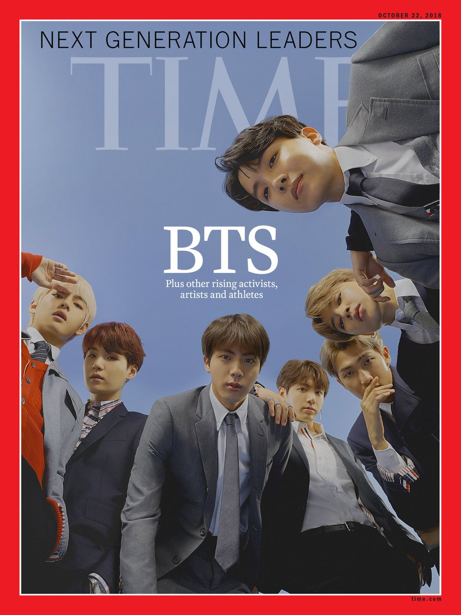 TIME's new international cover: How BTS is taking over the world https://t.co/A55McykoQ5