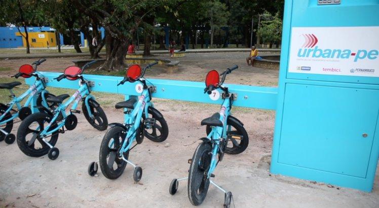 Recife ganha estações de bicicletas compartilhadas para crianças >>
