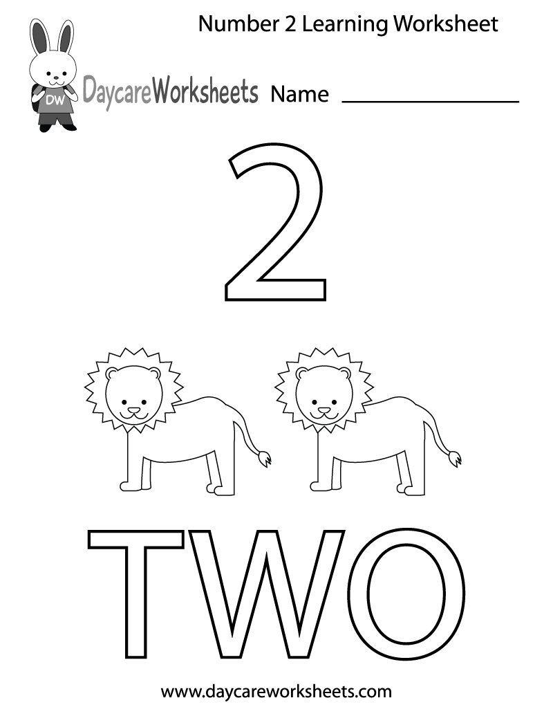 Worksheets Daycare Worksheets daycare worksheets fundaycare twitter each free worksheet contains the number corresponding image and word for you can download print them here