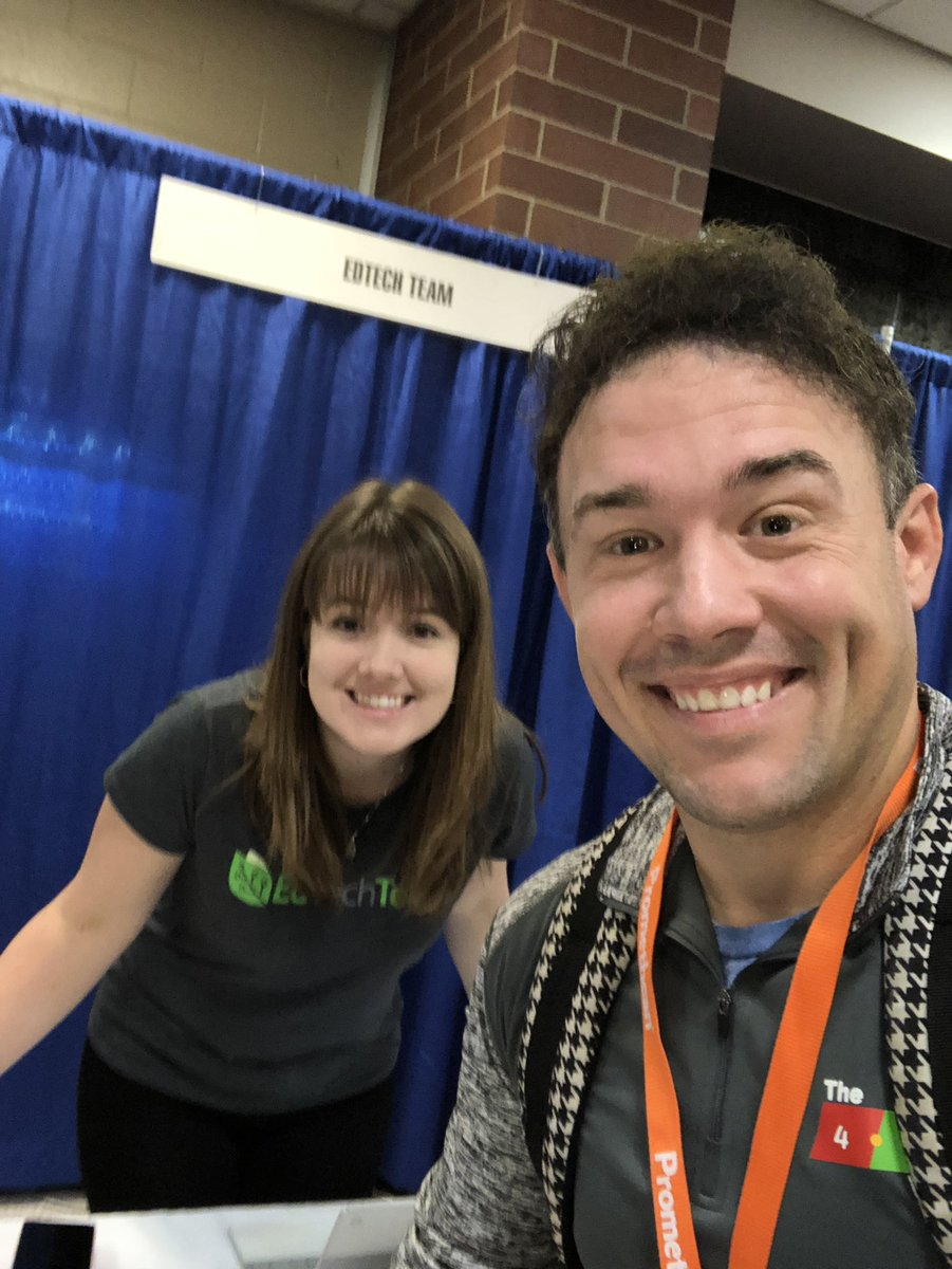 It is awesome to see @edtechteam at @iceindiana! Major bonus points when I get to meet my @GoogleForEdu Innovator mentor in real life for the first time! #edtechteam #iceindiana <br>http://pic.twitter.com/ipv4qYxDPg
