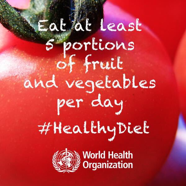 Today is #WorldObesityDay. Making healthy food easily available in communities, workplaces & schools is essential to protecting people from obesity bit.ly/2OUbdno 🍏🍐🍊🍌🍉🥝🥑🥒🥦🥬