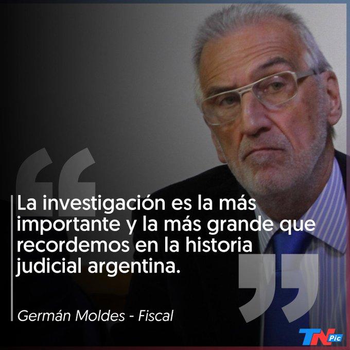 Moldes respaldó el desafuero y el pedido de detención de Cristina Kirchner. El fiscal general ante la Cámara de Apelaciones en lo Criminal y Correccional federal avaló las consideraciones de Stornelli y Rívolo, que llevan adelante la causa de los cuadernos de las coimas K Photo