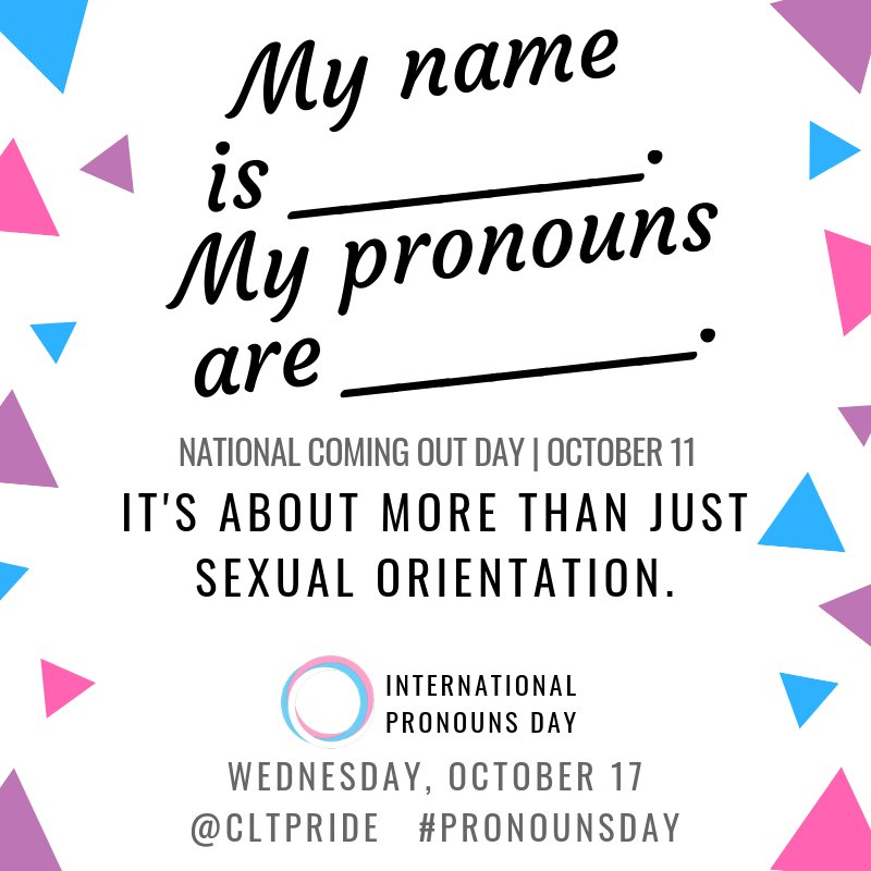 Image result for international pronouns day