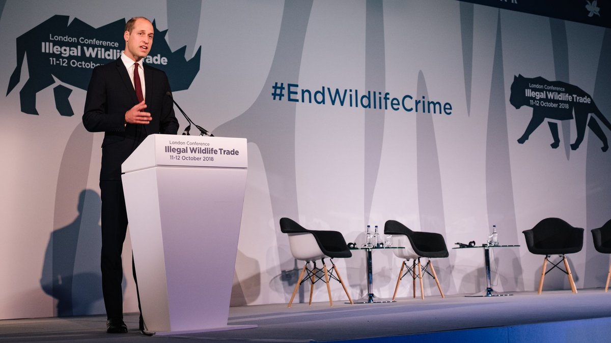 I feel it is my duty, and our collective responsibility, to leave our planet in a stronger position for our children. — The Duke of Cambridge #EndWildlifeCrime