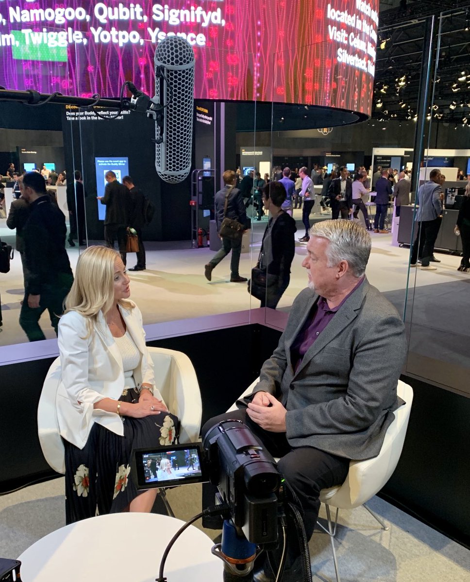 Catch a replay of my live interview today with @SAP global #CMO @aliciatillman from the floor of #SAPCXLive in #Barcelona:  https:// vimeo.com/294551774  &nbsp;   We talked #brand loyalty, #customerexperience, and leading with a purpose. Thanks Alicia! #leadership #cx #NewCSuite #csr #<br>http://pic.twitter.com/OLV1IjdMSc &ndash; à Fira Barcelona Gran Via