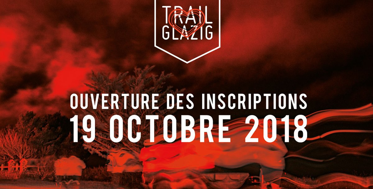 Présentation de l'édition 2019 du #Trail Glazig à lire ici : https://t.co/kQNctgMJMO