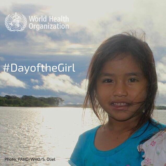 Adolescent girls have the right to a safe, educated & healthy life, not only during the critical formative years, but also as they mature into women. Healthy, empowered girls have the potential to build stronger communities, nations & to ultimately transform society #DayOfTheGirl