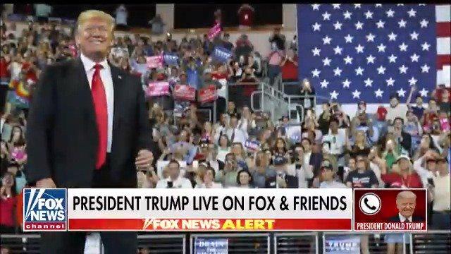 𝗧𝗿𝘂𝗺𝗽 𝗡𝗮𝘁𝗶𝗼𝗻's photo on Fox & Friends