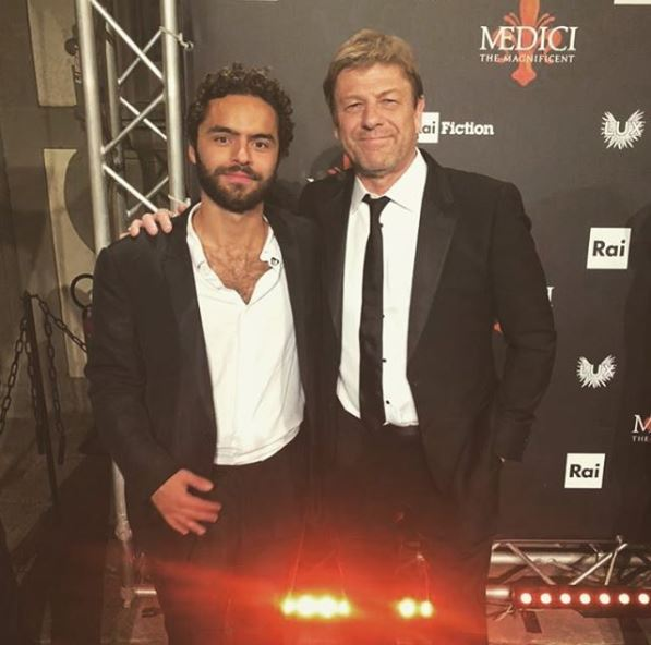Our @sebdesouza looked brilliant with the cast of @MediciSeries at the Season 2 premiere in Florence last night! Don't miss the Italian premiere on RAI on the 23rd October and the @netflix premiere later in the Fall #medicimastersofflorence #premiere #ComingSoon
