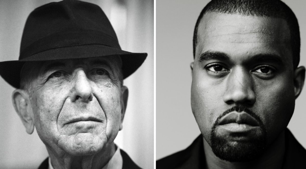 Leonard Cohen&#39;s new posthumous poetry collection includes a poem called &quot;Kanye West Is Not Picasso&quot;:  http:// cos.lv/eBFK30mbVdX  &nbsp;  <br>http://pic.twitter.com/QNBZFYH0SE