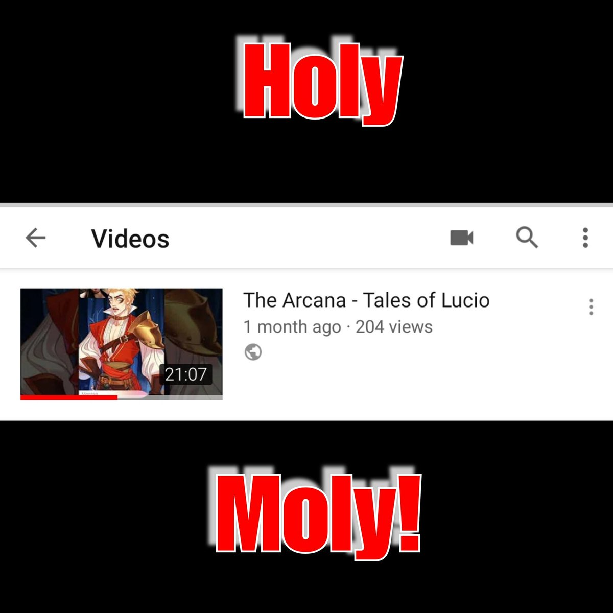 My Tales of Lucio video from The Arcana now has 200 views! @thearcanagame