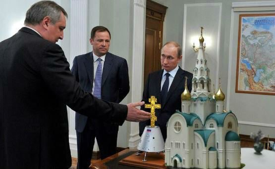 "Перед катастрофою ракети ""Союз"" її освятили священики РПЦ - Цензор.НЕТ 8614"