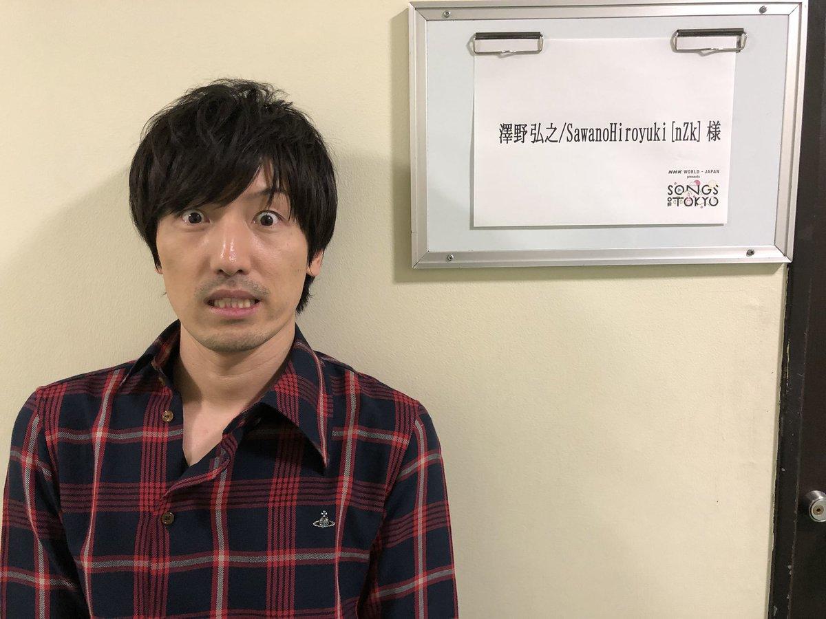 """澤野弘之 [nZk] on Twitter: """"本日はNHK WORLD-JAPAN presents SONGS ..."""