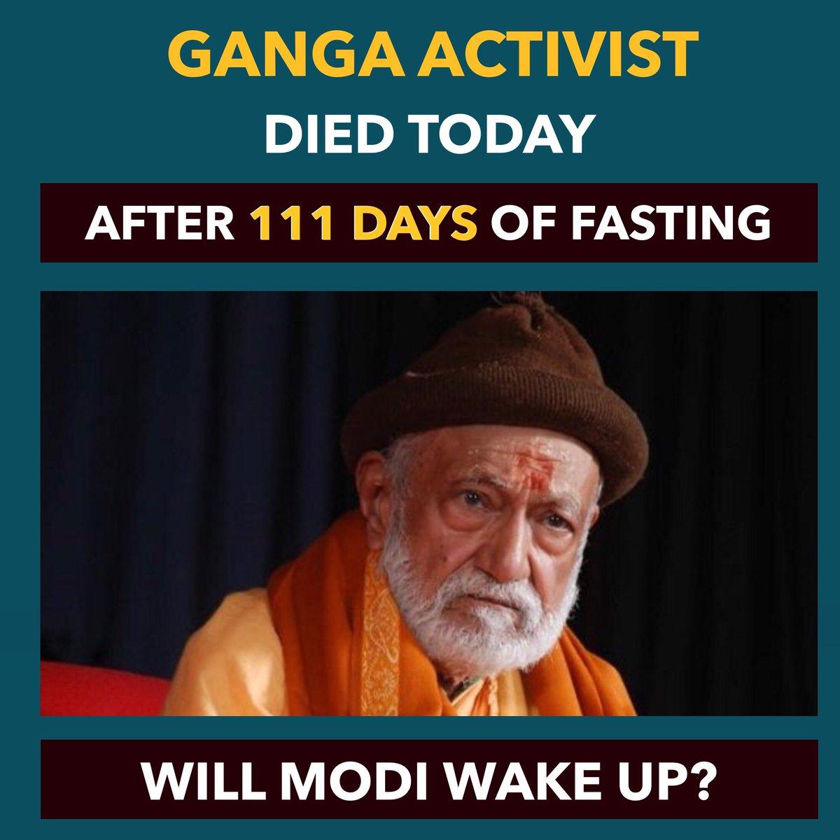 Dhruv Rathee's photo on Ganga