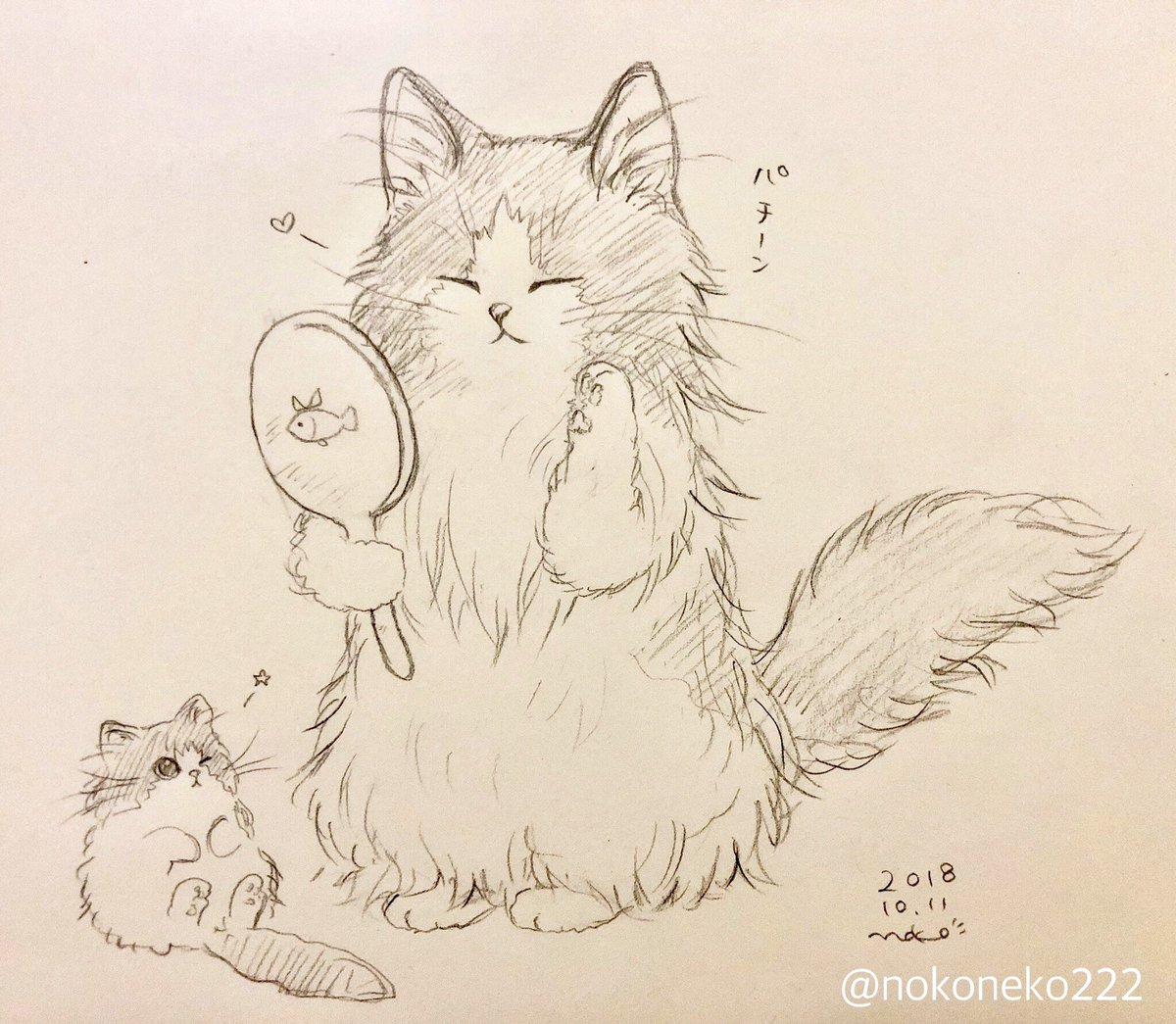のこねこ@ねこ絵描き's photo on #ウインクの日