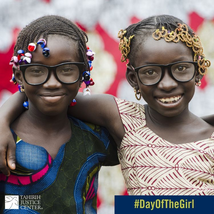Today is International #DayOfTheGirl. Today we pay respect to the girls who fight every day to be heard and to be seen and we honor the girls whose strength paves the way for future generations to be free. #TeamTahirih #ForTheGirls #GirlPower #GirlPossible #GirlHero #GirlChild