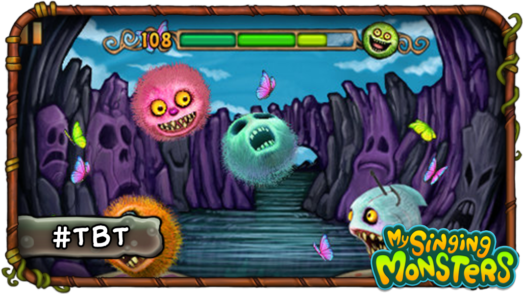 tbt did you know before appearing in my singing monsters these bouncy odd balls debuted in their very own game