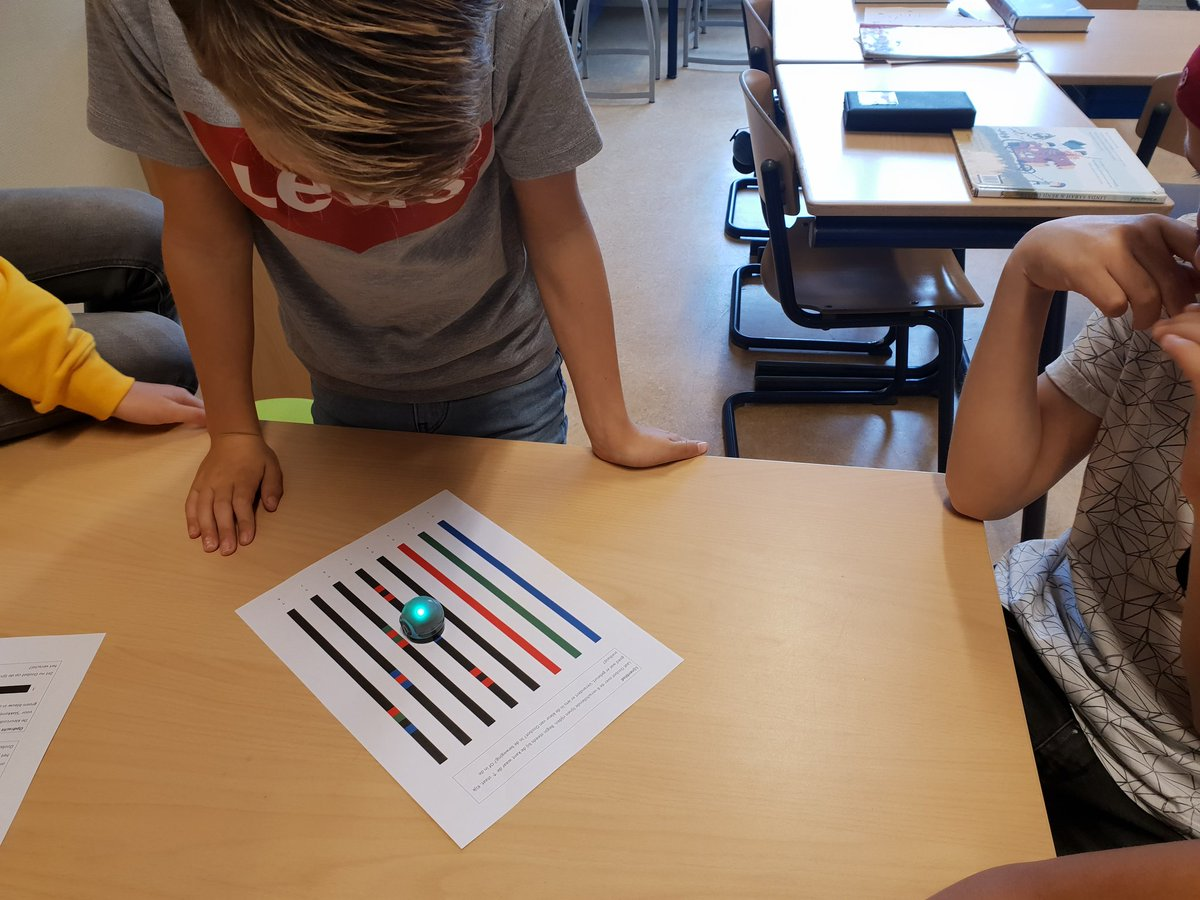 test Twitter Media - RT @MaraWeijenberg: Programmeren met de ozobot; dat was leuk! https://t.co/1WLgjhmmPM