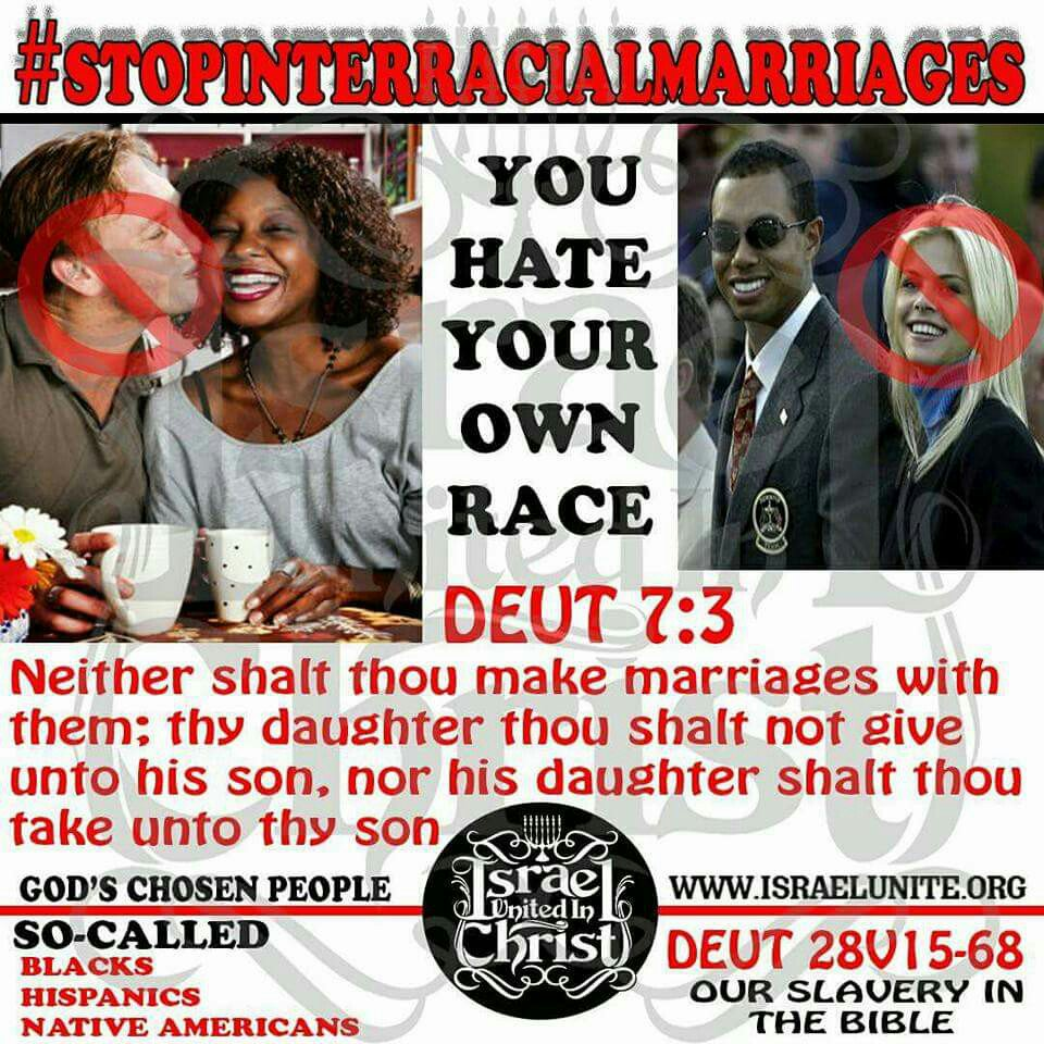 Think, that Is interracial marriage a sin