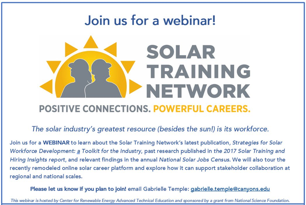 Media Tweets by SolarTrainingNetwork (@STN_USA)   Twitter