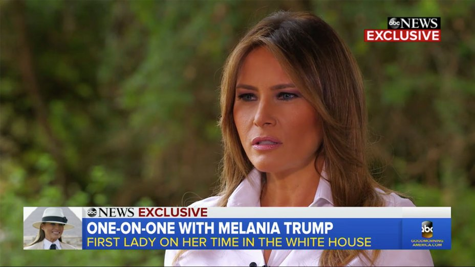 Melania Trump says she's the 'most bullied person in the world' https://t.co/h7JFdZ7jcT https://t.co/nN1DV1ZEVi
