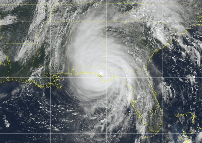 HURRICANES: The Insurance companies love the term, &quot;Acts of God.&quot;  How about renaming them &quot;Acts of Humans.&quot;  We&#39;re creating these disasters. Our planet will survive. We won&#39;t. It&#39;s MOTHER NATURE - &amp; her stripper-name is &quot;Karma.&quot;  #michaelhurricane #HurricaneMichael #stormsurge<br>http://pic.twitter.com/lnSiyf9I9W