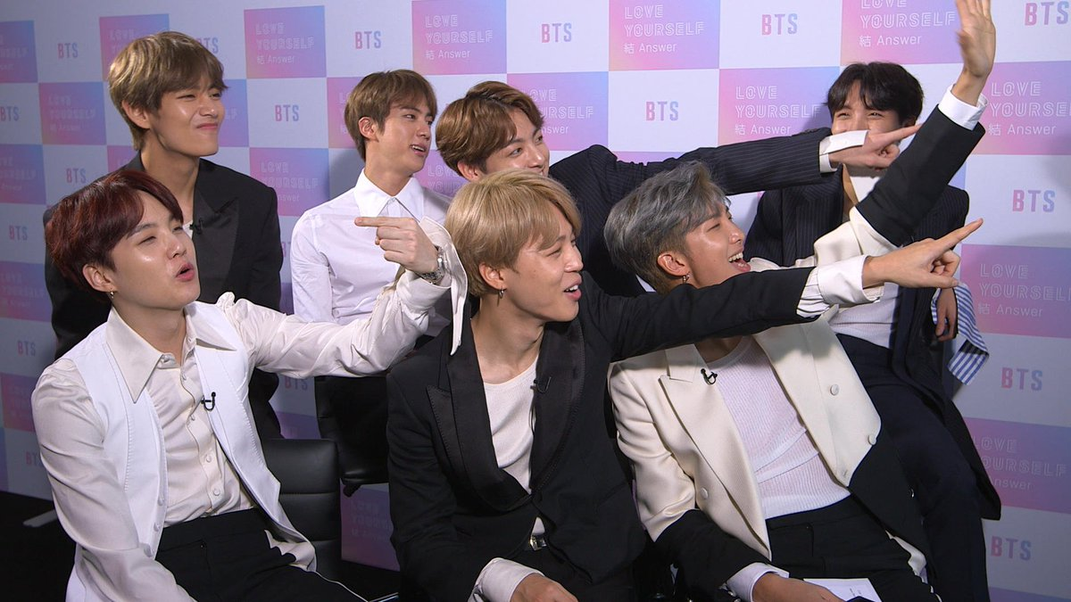 BTS vs. The Fans - we put the #BTSArmy's questions to the K-Pop heroes @BTS_twt https://t.co/YCauGTagJk