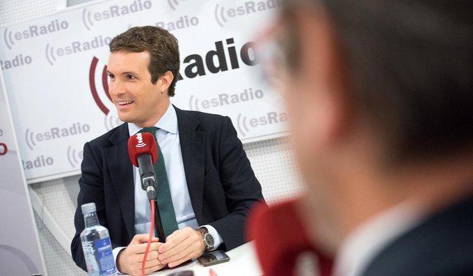 Casado: O Bruselas tumba estos Presupuestos o estos Presupuestos tumban a España. Por @montesinospablo #SíSePuede #PGE2019 Photo
