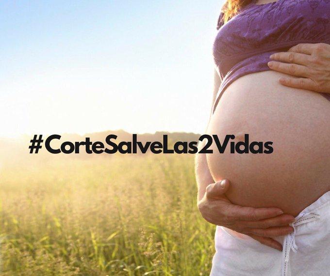 #CorteSalveLas2vidas no es un cúmulo de células, es una vida que debe ser protegida @CConstitucional Photo