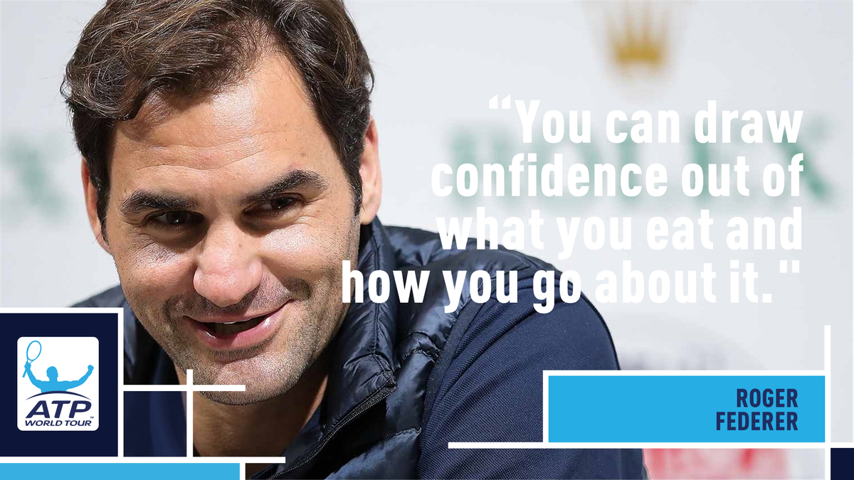Does @rogerfederer like dessert? 🤔 Find Out ➡️ bit.ly/2A5zhvo