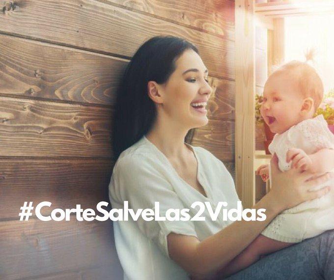 #CorteSalveLas2Vidas Por el derecho a la vida, nadie puede decidir por ellos. @CConstitucional Photo