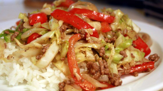Black Pepper Beef and Cabbage Stir Fry #Recipe https://t.co/teJcArOn4r https://t.co/688BkGXolF