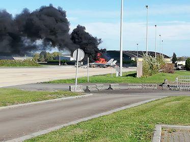 DRAMA U BELGIJI: Slučajno zapucao iz F-16 i uništio drugi avion na pisti