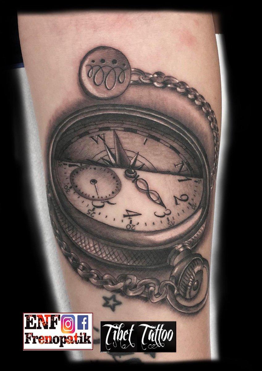 Tibet Tattoo On Twitter Relojbrujulahecho En Tíbet Tattoorubí