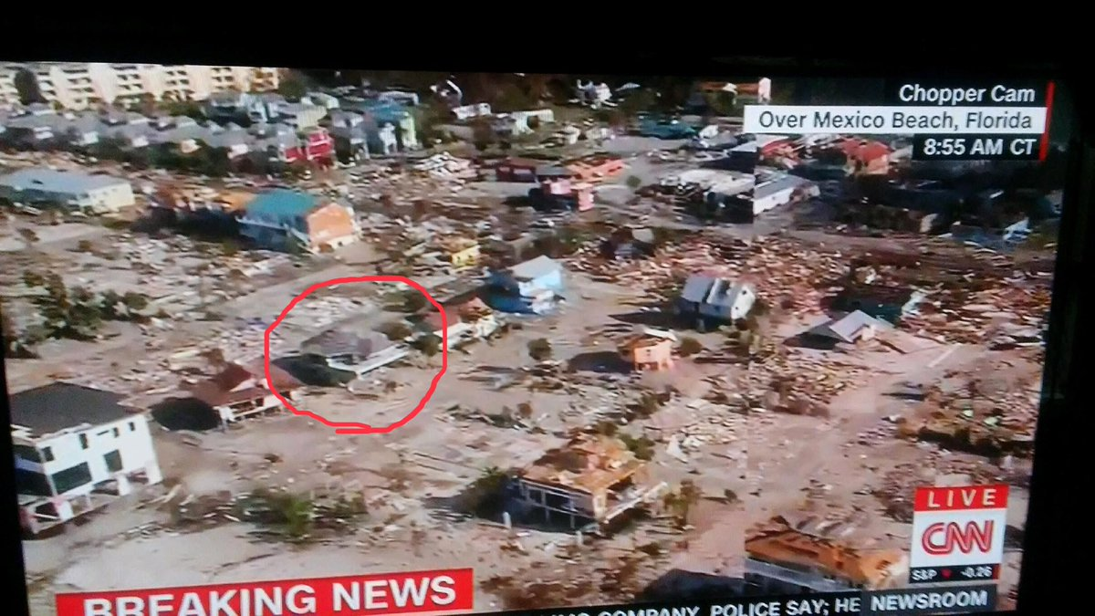 My beach house is still standing!! As you can see from satellite images there were a lot of houses that were not as fortunate. #mexicobeachFL <br>http://pic.twitter.com/oJh4YIt9zF