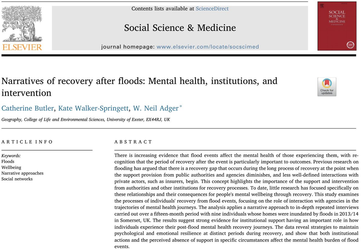 """So many lives have been changed forever. So many families have lost everything. Homes are gone. Businesses are gone,"" Governor Scott #michaelhurricane Recovery journeys require interventions to prevent elongating the trauma. New work on this @drcbutler  https://www. sciencedirect.com/science/articl e/pii/S0277953618305148 &nbsp; … <br>http://pic.twitter.com/zoaIQalNRy"