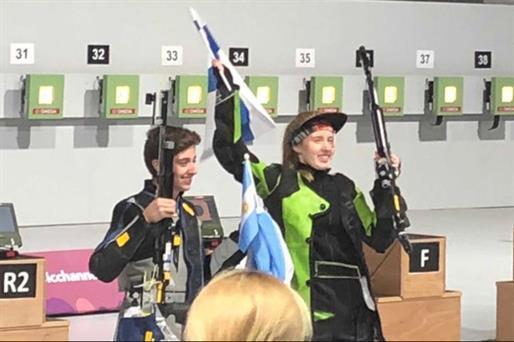Otra medalla de bronce en los Juegos de la Juventud: Facundo Firmapaz fue tercero en tiro deportivo Photo