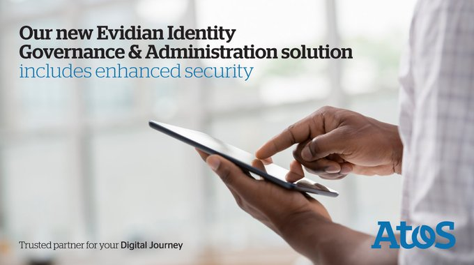Through our new #Evidian Identity Governance & Administration solution, #security...
