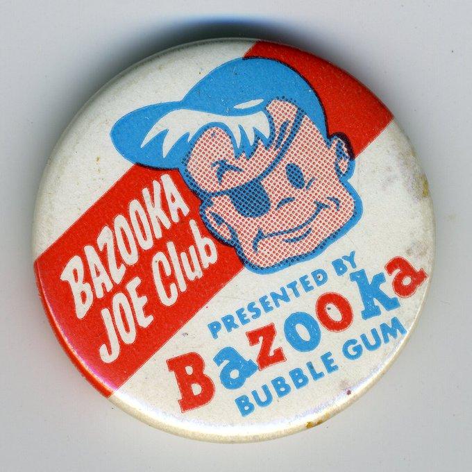 #NameOfMyClub Bazooka Joe Club. But we dress like Joe and carry a real Bazooka. Photo
