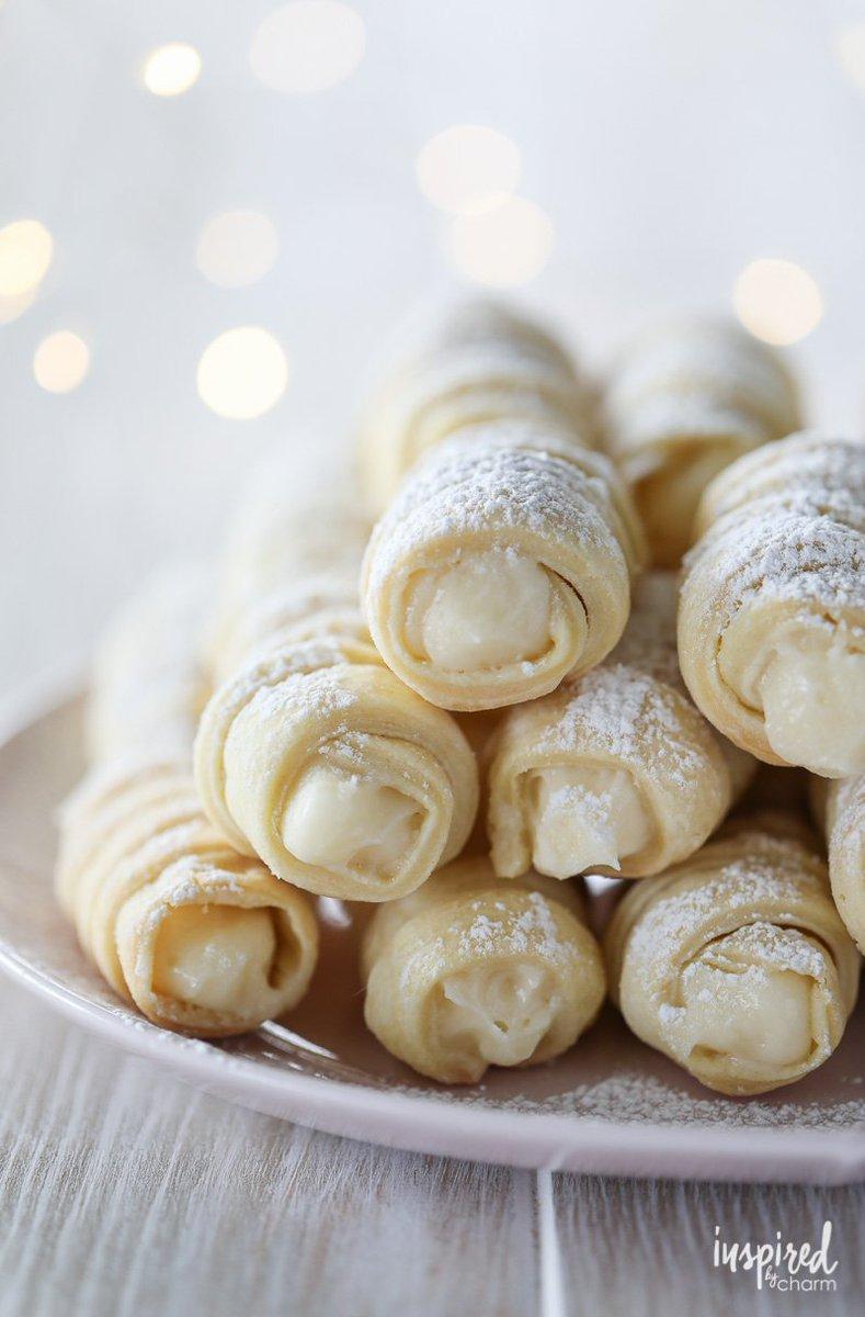 @inspiredbycharm: Cream Horns Cookies (Lady Locks)   Get the RECIPE: https://t.co/nKmDUyllFf https://t.co/Qx7ukktNOu
