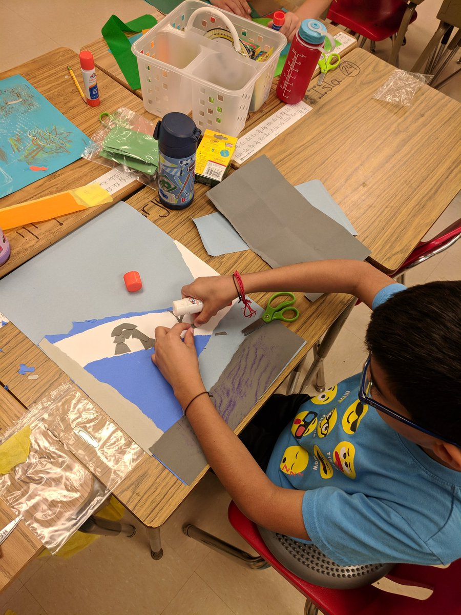 So excited for our collaboration with <a target='_blank' href='http://twitter.com/SimmermanArt'>@SimmermanArt</a> to create torn paper ecosystems! <a target='_blank' href='http://search.twitter.com/search?q=artsintegration'><a target='_blank' href='https://twitter.com/hashtag/artsintegration?src=hash'>#artsintegration</a></a> <a target='_blank' href='http://twitter.com/McKaleidoscope'>@McKaleidoscope</a> <a target='_blank' href='https://t.co/mnxveVodUz'>https://t.co/mnxveVodUz</a>